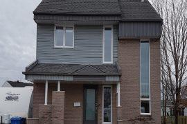 Remplacement de fenêtres d'un cottage